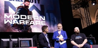Call of Duty modern warfare panel