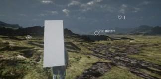 Man standing death