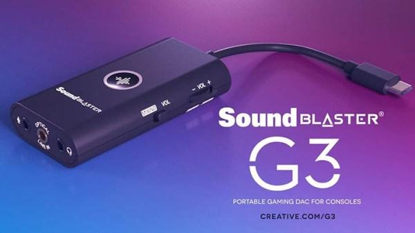 soundblaster G3