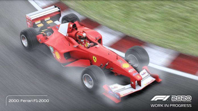 Schumacher ferrari f1 2020
