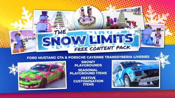 DiRT 5 snow limits pack
