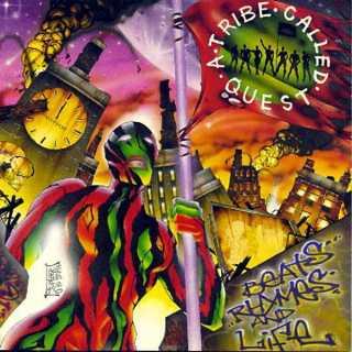 A Tribe Called Quest Beats Rhymes And Life - Mutlaka dinlemiş olmanız gereken 25 Klasik Hip-Hop albümü