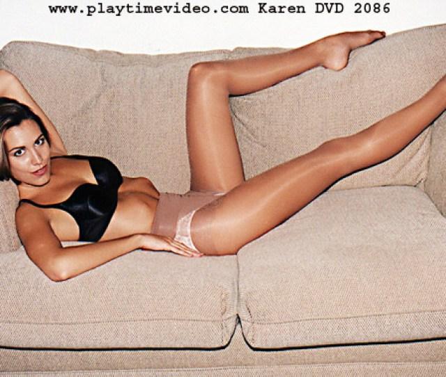 Karen Teen Pantyhose Tease Dvd 2086