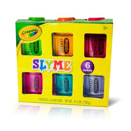Crayola Slyme 6 Pack