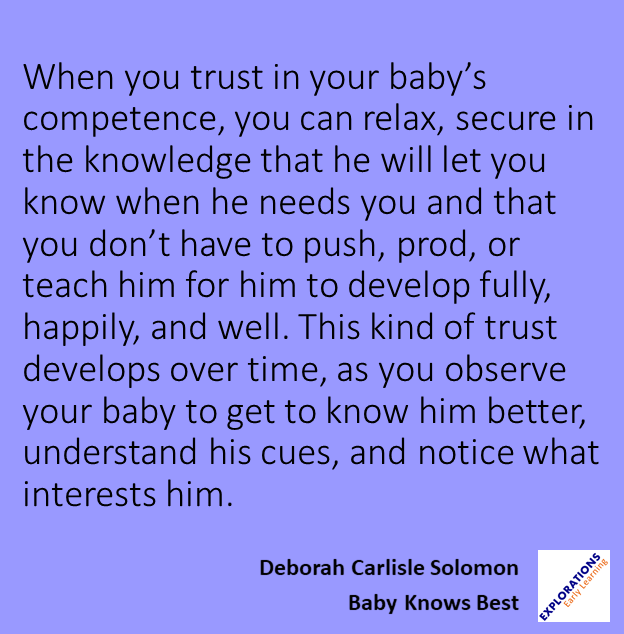 Baby Knows Best Quote 01849 Playvolution Hq
