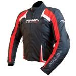 Armr Moto Eyoshi Motorcycle Jacket Black/Red