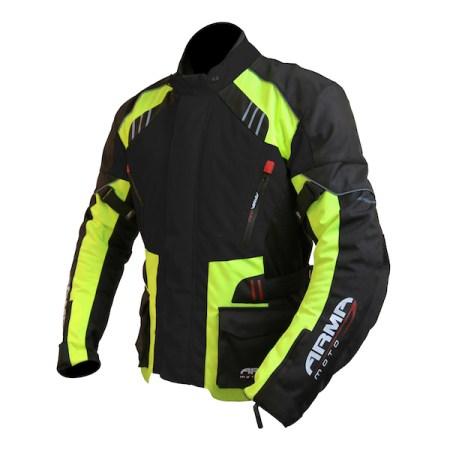 Armr Moto Kiso 2 Motorcycle Jacket - Yellow