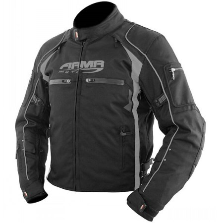 Armr Moto Ukon Motorcycle Jacket Black/Grey