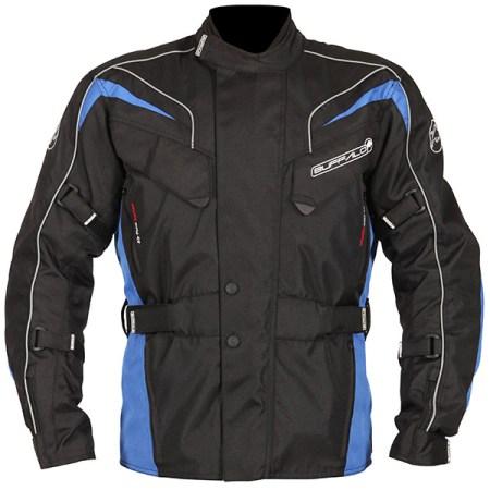Buffalo Hurricane Motorcycle Jacket Black/Blue