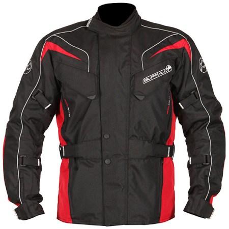 Buffalo Hurricane Motorcycle Jacket Black/Red