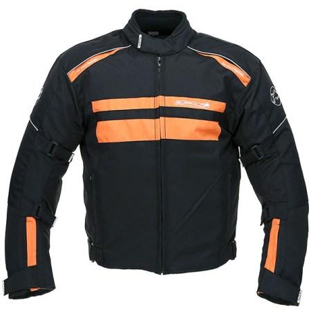 Buffalo Modena Motorcycle Jacket Black/Orange