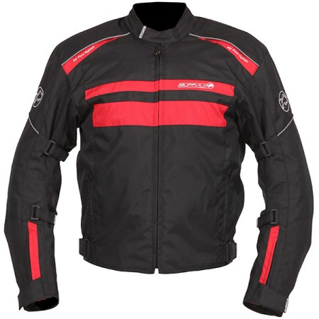 Buffalo Modena Motorcycle Jacket Black/Red