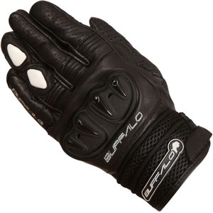 Buffalo Ostro Motorcycle Gloves Black