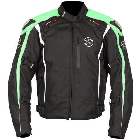 Buffalo Spyker Motorcycle Jacket Black/Green