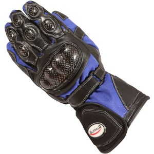 Buffalo Storm Motorcycle Gloves Blue