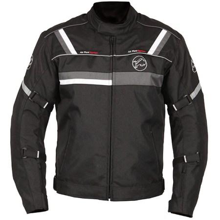 Buffalo Typhoon Motorcycle Jacket Black/Gun