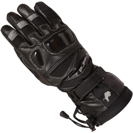 Buffalo Yukon Motorcycle Gloves Black
