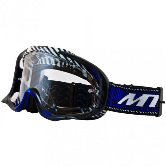 MT Motocross Goggles Blue