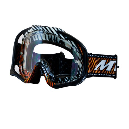 MT Motocross Goggles Orange