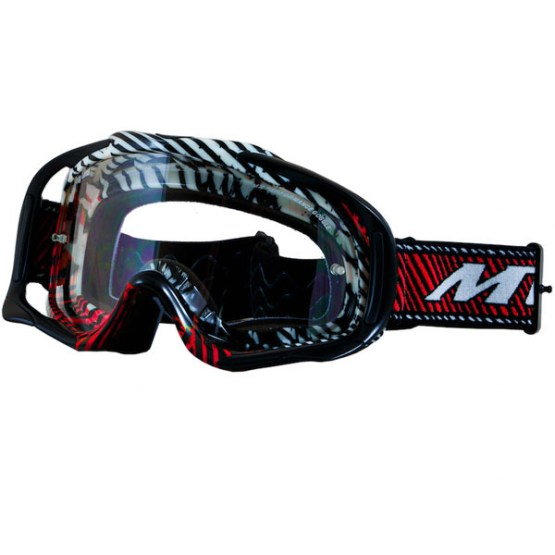 MT Motocross Goggles Red