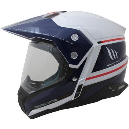 MT Synchrony Vintage Dual Sport Helmet