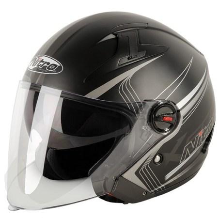 Nitro X600 Tetra Open Face Motorcycle Helmet