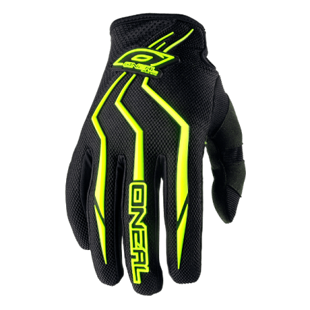ONeal Element Motocross Gloves Yellow