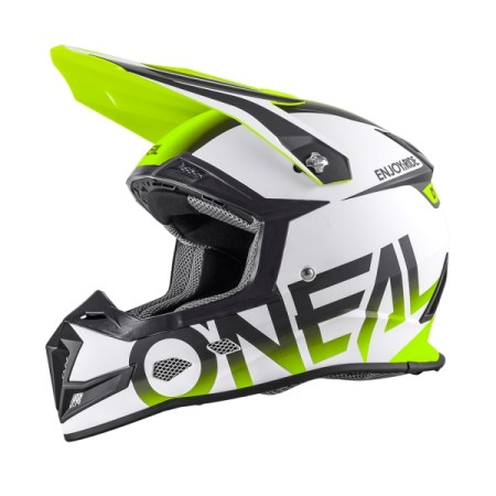 Oneal 5 Series Blocker Motocross Helmet Neon Yellow