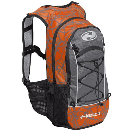 Held To Go Motorcycle Rucksack Orange