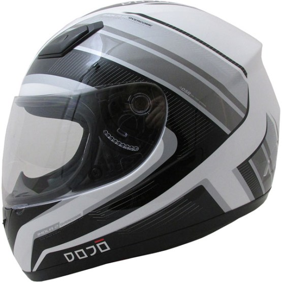 Dojo Imola Overcome Motorcycle Helmet Grey