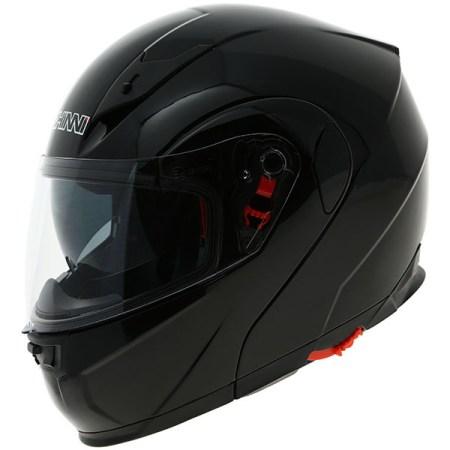 Duchinni D606 Flip Front Motorcycle Helmet - Black