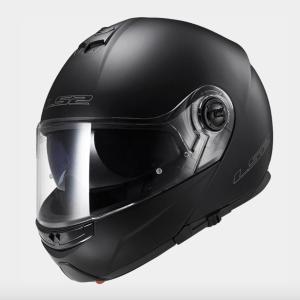 LS2 FF325 Strobe Motorcycle Helmet Matt Black