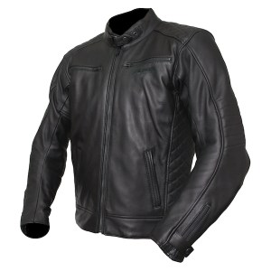 Armr Moto Kenji Leather Motorcycle Jacket Black