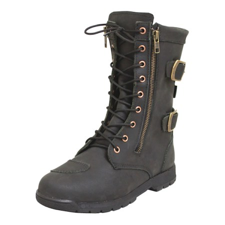 Armr Moto Tara Motorcycle Boots - Black