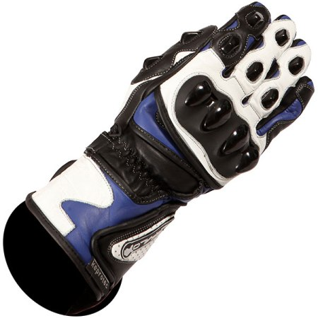 Buffalo BR30 Motorcycle Gloves - Blue