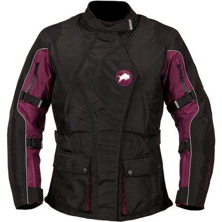Buffalo Siena Ladies Motorcycle Jacket - Purple