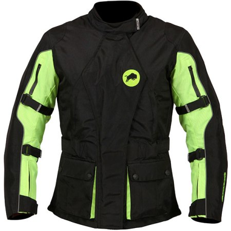 Buffalo Siena Ladies Motorcycle Jacket - Yellow