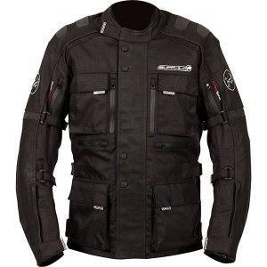 Buffalo Explorer Motorcycle Jacket Black
