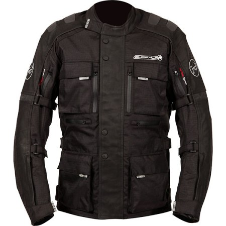 Buffalo Explorer Motorcycle Jacket - Black