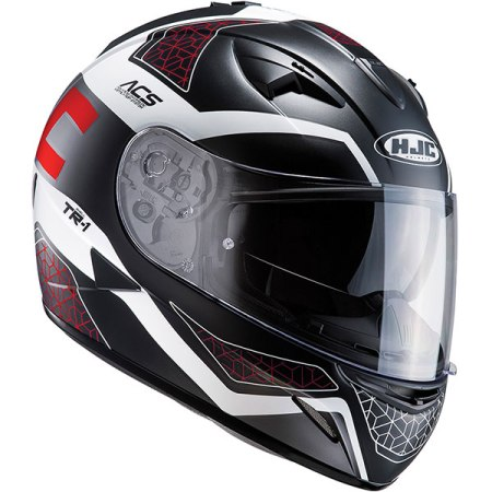 HJC TR-1 Tholos Motorcycle Helmet - Red
