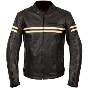 Weise Brunel Leather Motorcycle Jacket Black