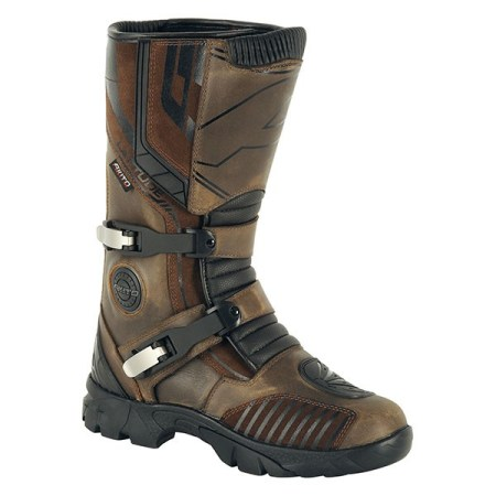 Akito Latitude Motorcycle Boots - Brown