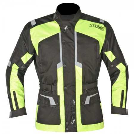 Akito Terra Motorcycle Jacket - Yellow