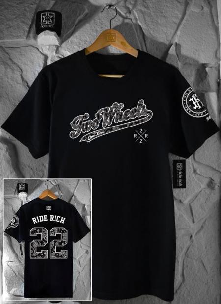Ride Rich Major League T Shirt