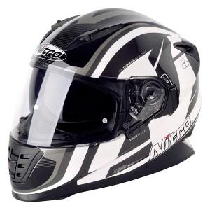 Nitro NRS-01 Pursuit Motorcycle Helmet Black