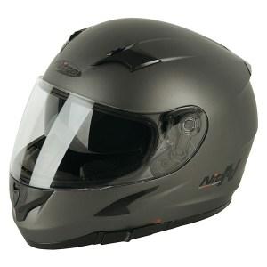 Nitro N2300 Rift Uno Motorcycle Helmet Matt Gun