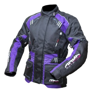 Armr Moto Ladies Kiso 2 motorcycle jacket Plum