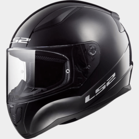LS2 FF353 Rapid Motorcycle Helmet Black