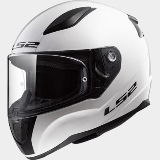 LS2 FF353 Rapid Motorcycle Helmet White