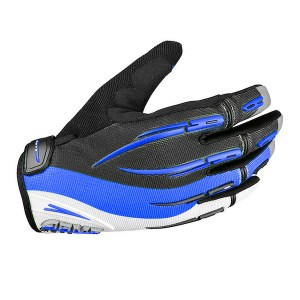 Armr Moto Kids KGMX3 Motocross Gloves Blue
